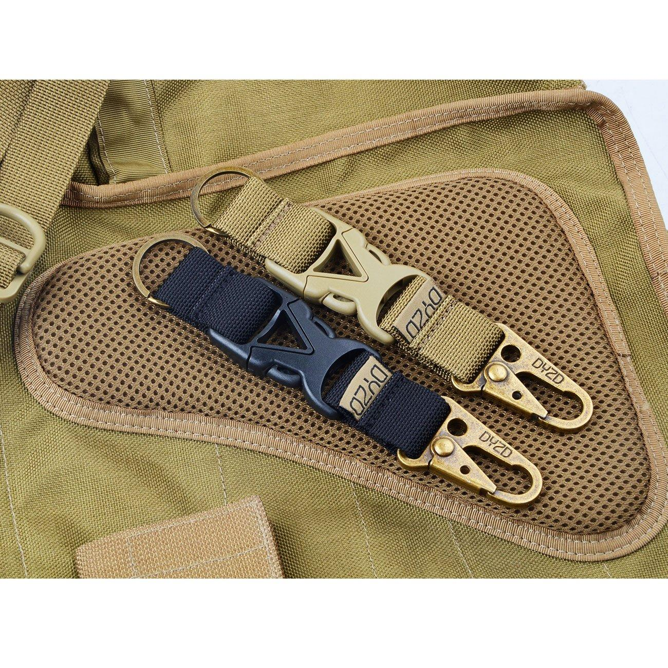 Details about  /Tactical Belt Keychain Nylon Outdoor Hook Quick Release YuDuI liu12 etgy