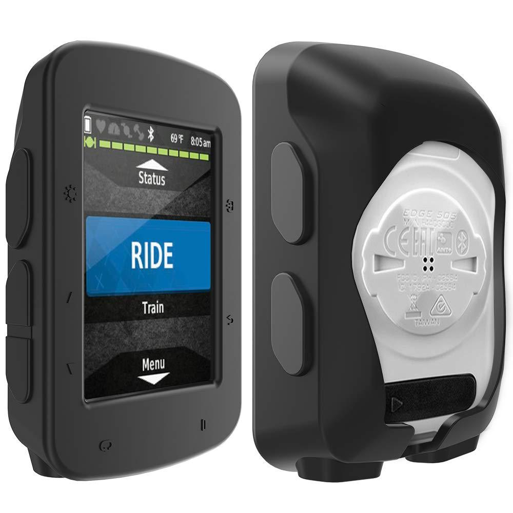 Silicone Protective Cover TUSITA Case for Garmin Edge 520 Plus GPS Bike