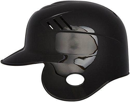 Single flap baseball helmet