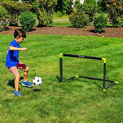 Franklin Sports Kids Mini Soccer Goal Set - Backyard ...